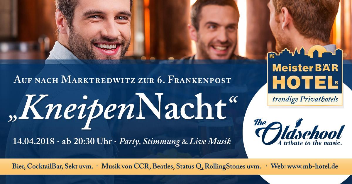 6. Frankenpost Kneipennacht Marktredwitz 2018 - Band: The Oldschool
