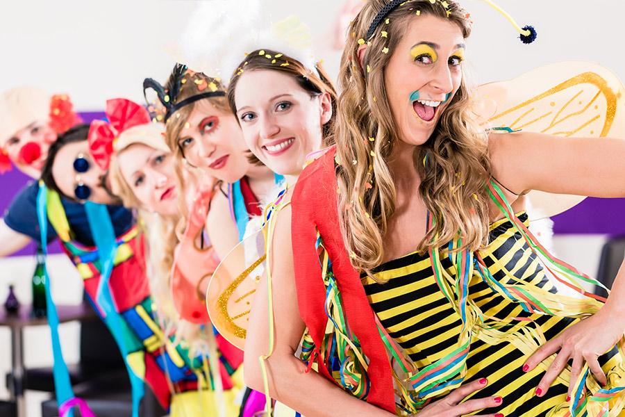 Karneval im Fichtelgebirge