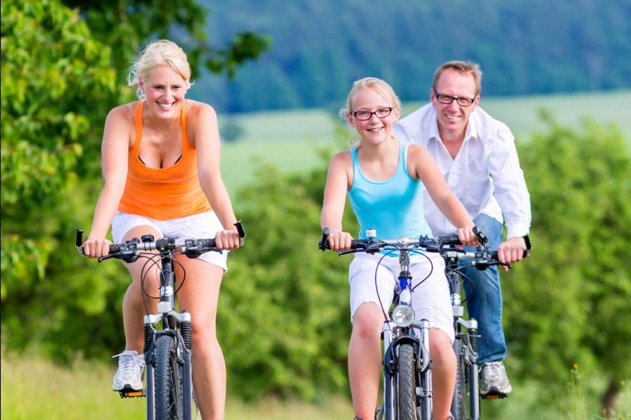 Talsperren-Radtour