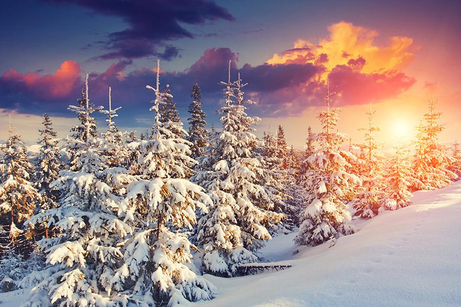 Weihnachten Feiertage im Vogtland